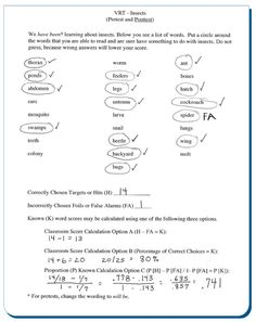 ASSESSMENT: This article discusses three assessment techniques - the vocabulary knowledge scale, vocabulary recognition task, and vocabulary assessment magazine. It also discusses the difference between assessing for breadth or depth of knowledge. Examples Of Summative Assessment, Self Assessment, Rubrics, Vocabulary Instruction, Science Vocabulary, Depth Of Knowledge, Teaching Reading, Learning, Receptive Language