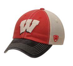Wisconsin Badgers NCAA Top of the World Offroad Trucker Adjustable Hat  Wisconsin Badgers Hat d876781d92b0