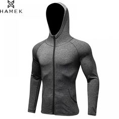 Teresamoon Fashion Mens Autumn Winter Long Sleeve Sport Zipper Hoodie Pullover Blouse Tops
