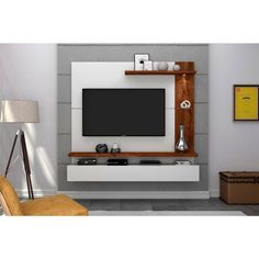 Painel Home, Lcd Panel Design, Tv Wall Cabinets, Malbec, Tv In Bedroom, Tv Unit, Lira, Board, Home Decor