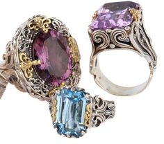 Konstantino wedding rings