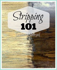 The ins and outs of STRIPPING! (Stripping furniture 101) sawdustandembryos.com