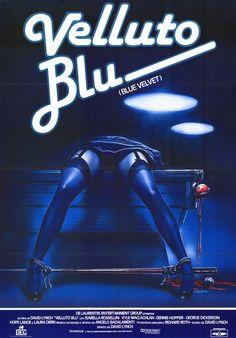Blue Velvet (Foreign) 11x17 Movie Poster (1986)