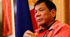 """O chefe de Estado é alvo de inúmeras críticas por sua violenta campanha contra o tráfico de drogas e """"sua guerra contra o crime""""."""