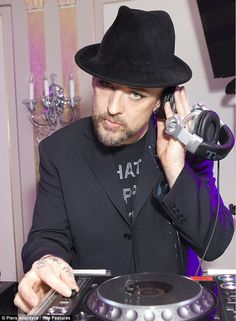 BOY GEORGE..actually HOT NOW!!!!!!!!!!!!!!!!!!!!!!