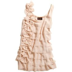 Love this shade of pink and the ruffles!