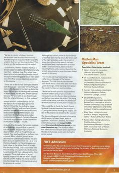 Racton Man article in local Initiatives magazine Stone Age, Prehistory, Bronze, Positivity, Magazine, The Originals, Prehistoric Age, Magazines, Prehistoric