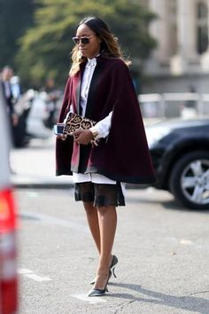 Chic Street Style From Paris
