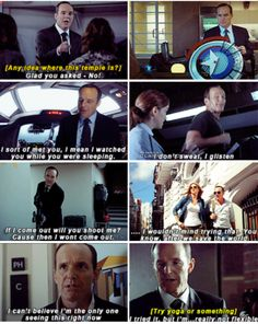 A few great Coulson moments... gosh he's so great