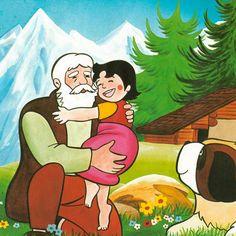 Heidi - desene animate in romana Heidi Cartoon, Cartoon Tv, Cartoon Shows, Cartoon Characters, Ernst Ludwig Kirchner, Serie Heidi, Short Fairy Tales, Oldschool, 90s Cartoons