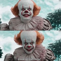 - Pennywise knows your dirty secrets😉 Clown Horror, Funny Horror, Horror Films, Horror Art, It The Clown Movie, Clown Film, Bill Skarsgard Pennywise, Horror Drawing, Pennywise The Dancing Clown