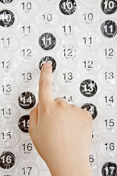 Lasst es knallen – Der Luftpolsterkalender 2014