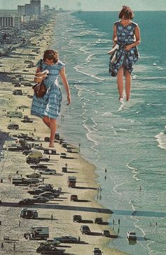 Walk on the Beach, SarahEisArt