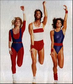 Be honest--did you own any of these awesome 80s aerobics outfits? #throwbackthursday #thursday