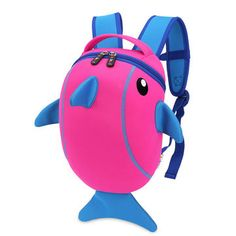 School Waterproof amp; Bolsas 3D Children Mochilas Bags Shark qtFBxgp