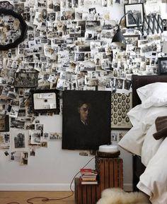 Blog maison - décorer un mur photos