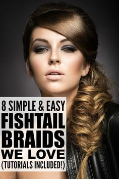 15 Best Fishtail Braid Styles Images Hairstyle Ideas Up Dos Cute