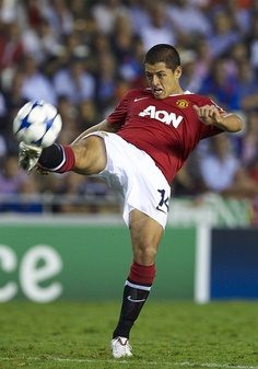 Chicharito! One of the greatest players on the field right now!