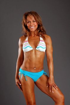 Maxine Johnson is a 55 year old figure competitor who decided to make the change and get fit at the age of 36.