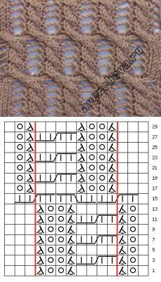 Model 744 |  model de tricotat cu ace director