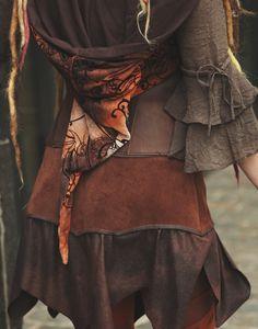 KOSTÜMTRUHE | Verkauf & Versandhandel, mittelalterliche Kleidung, Kostüme & Gewandungen, Zubehör aus Ritterzeit und Piratentum - Bolero Kapuzencape orange