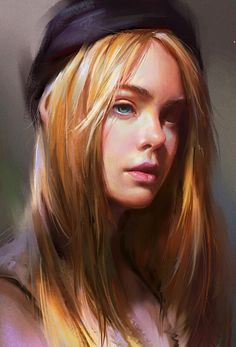 Excellent portrait art by yi fan https://www.artstation.com/artwork/practice-c396c695-567b-4991-9c95-d68269474987?utm_content=buffer5e78a&utm_medium=social&utm_source=pinterest.com&utm_campaign=buffer #portraitart #artoftheday