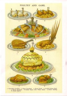 Mrs Beeton's Book of Household Management, 1861 - Poultry and game