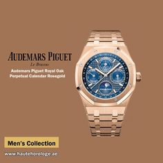 cad38b1edde Haute Horologe offers Audemars Piguet Royal Oak Perpetual Calendar Rosegold  26574or.oo.1220or mens watches in Dubai.