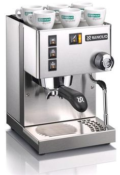 Silvia V3 semi-automatic espresso machine is an upgraded version of the Rancilio Silvia V2, including commercial grade steam wand, redesigned steam knob and portafilter handle with classic look.