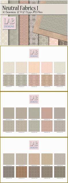 30 Seamless Neutral Fabric Textures