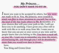 By far my favorite devotional- His Princess by Sheri Rose Shepherd
