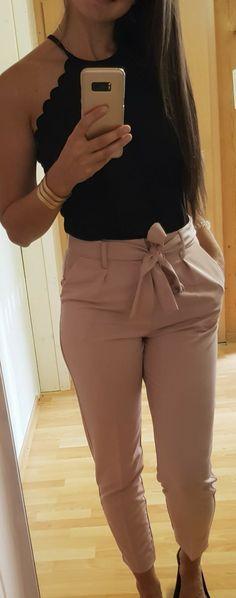 20 Ideas De Pantalon Con Lazo Pantalon Con Lazo Ropa De Moda Ropa