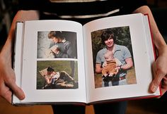 This lady had a book printed and bound of photos of her Dad all throughout his life as a gift to him for his 60th birthday. SO AMAZING.