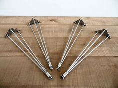 28  3-Pins-S Table Legs Stainless Steel Height 26 To by Balasagun