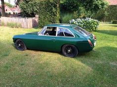 1967 MG MGB GT BRG Nick Van Laer