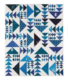 Flock Of Seagulls Quilt Kit | CraftofQuilting.com