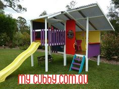 Create the perfect outdoor play area in your backyard with a cubbyhouse #MyCubby #CubbyHouse #Cubbies #Fort #Play #OutsidePlay #PlayIdeas #OutdoorPlay #Christmas #ChristmasLayby #ChristmasPresent