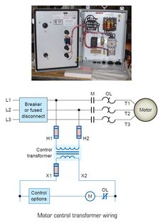 voltage transformer phasing check testing and commissioning motor control transformer wiring