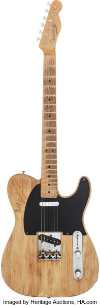 Musical Instruments:Electric Guitars, Circa 1952-1967 Fender Telecaster Natural Solid Body Elect...