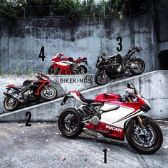 Pick 1, 2, 3 or 4 Ducati Panigale, Aprilia RSV4, BMW S1000RR, MV Agusta F4