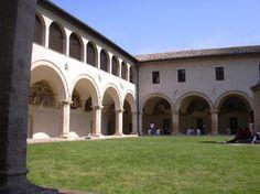 San Severino Marche. Chiostro di San Domenico