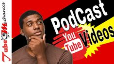 How to make a video podcast on youtube 2018 Make A Video, You Youtube, Tutorials, Tips, How To Make, Wizards, Counseling
