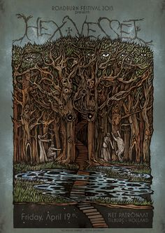 Hexvessel - Roadburn 2013, poster by Costin Chioreanu See the full set here:Roadburn 2013: Costin Chioreanu's Official Band Posters; Twilight13Media's 10th Anniversary - Roadburn