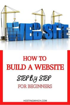 How to Build a Website? ( 6 Practical Easy Steps) - Hostingwhich #howtobuildawebsiteforbeginners#howtocreateawebsite#buildawebsite Content Marketing Strategy, Seo Marketing, Make Blog, How To Start A Blog, Graphic Design Tips, Web Design, Business Tips, Online Business, Promotion Strategy