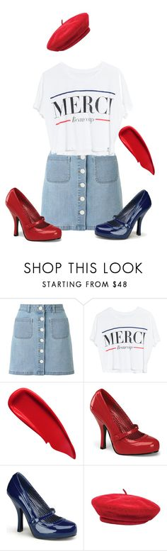 """Merci beaucoup"" by mindpearl ❤ liked on Polyvore featuring Miss Selfridge, Lovers + Friends, Sisley, Pinup Couture and Brixton"