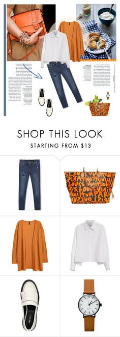 """Weekend vibes"" by stream ❤ liked on Polyvore featuring MANGO, Louis Vuitton, Y's by Yohji Yamamoto and Nine West"
