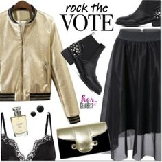 Rock the Vote in Style