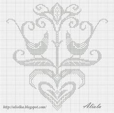 Мои творилки *** Aliolka design: птички с цветком.