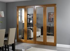 Inspire Range - Internal Bifolding Room Divider Doors » Vufold & Interior folding doors room iders - image 1   Living Room ...