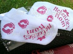 Labor & Delivery Cozy socks, mommy socks, push socks - pinned by pin4etsy.com